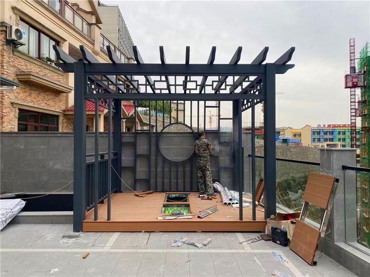 铝艺葡萄架 农村院子葡萄架 铝合金葡萄架 厂家定制安装