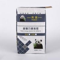 优质通用彩印包装编织袋 硅藻泥填缝料包装袋
