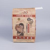 色母粒纸塑包装袋 方形防潮三层阀口袋