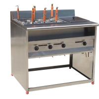 立式六格电煮面机连汤池