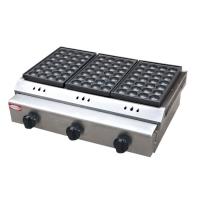 CB-60千麦燃气三板鱼丸炉商用章鱼小丸子机红外线陶瓷板丸子