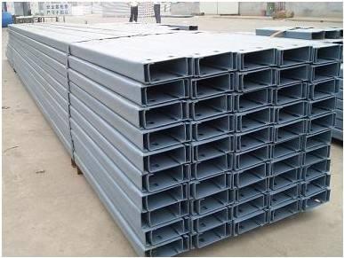 C型钢  冷弯钢 檩条  建筑用钢材 c型钢定制