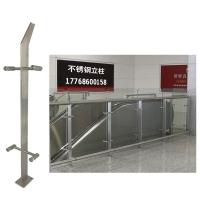供应江苏楼梯扶手 家用玻璃栏杆 阳台护栏 不锈钢立柱