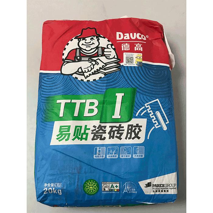 德高TTB1型易贴瓷砖粘结剂20公斤