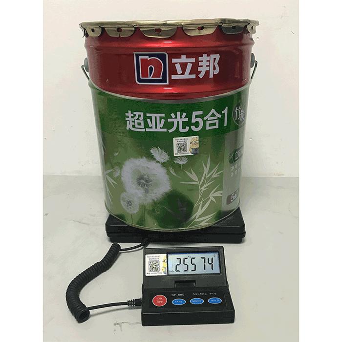 立邦超亚光5合1竹炭18L