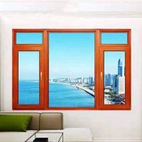 88平框断桥窗纱一体平开窗 断桥铝门窗批发 联铝门窗