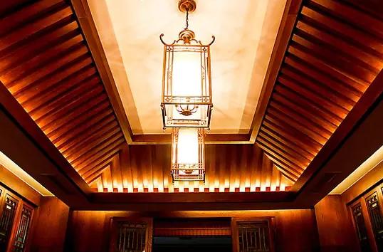 武漢歐式風格客廳模塊化吊頂造型效果圖