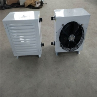 GS型鋼制熱水暖風機