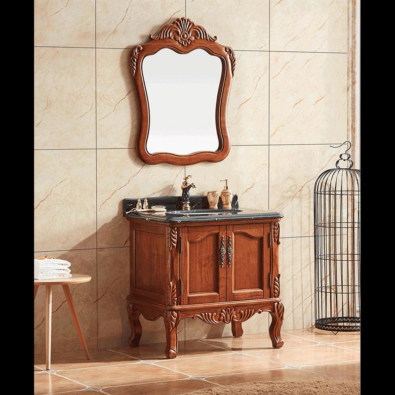 浴室柜欧美系列 JKS-8136 (不含龙头、下水)