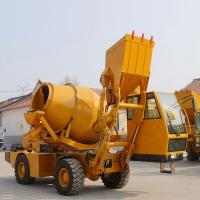 混凝土自上料搅拌运输车 沙石料搅拌车 自动上料罐车