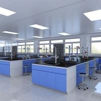实验室工作台全钢实验台化验室操作台试验边台钢木中央台