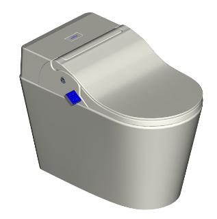 新款全功能智能马桶12V座圈加温