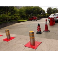 遙控升降路樁批發價,職校防控升降路樁