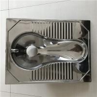 不锈钢蹲便器亮面处理公厕改造工程用