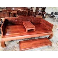 西安仿古罗汉床 红木罗汉床供应 中式罗汉床定做