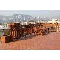 西安防腐木地板,室外木平台,景观木地板,防腐木平台