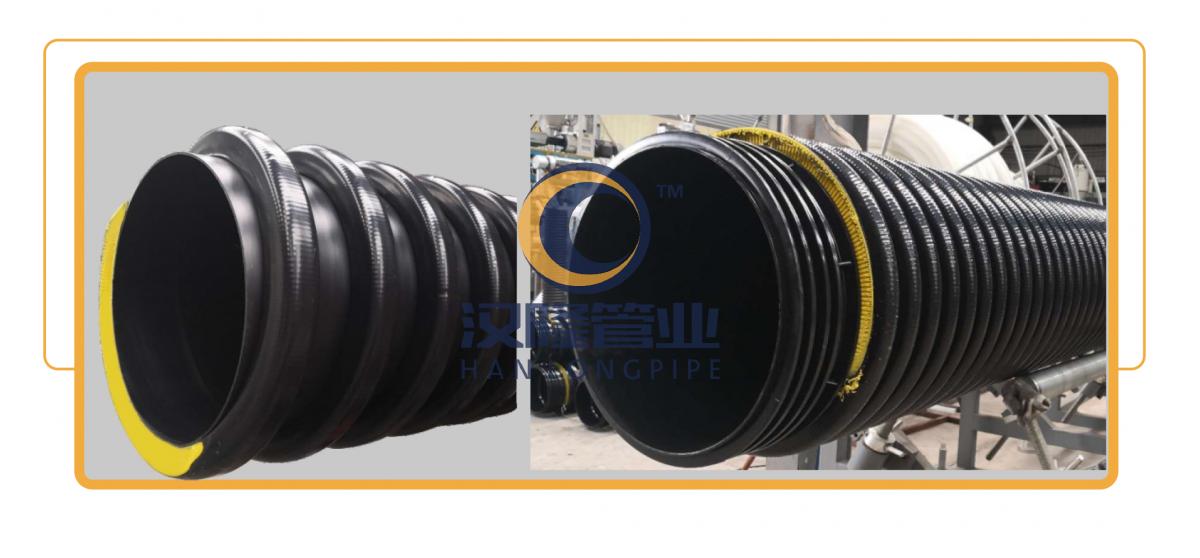 高筋(PP)增強聚乙烯纏繞管,高筋管;高筋PP纏繞管