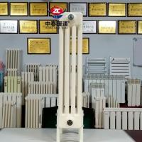 钢制椭圆管柱式散热器GZ409钢管柱型散热器 四柱型GZ4