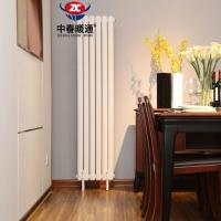 采暖改造工程專用鋼管柱型散熱器GZ220型