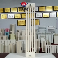 中春采暖QFGZ510鋼五柱暖氣片安裝方法