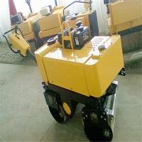 供应液压转向手扶式压路机  转向式手扶双钢轮压路机