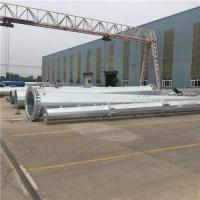 10KV電力鋼桿生產銷售 熱鍍鋅防腐電力鋼管桿