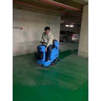 盐城洗地机-地下停车场驾驶式洗地机-车库全自动洗地机