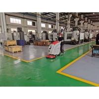 连云港洗地机-工厂车间地面清洗机-优尼斯手推式全自动洗地机