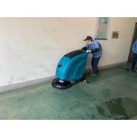 揚州洗地機工廠手推式洗地機車間用全自動洗地機電動拖地機