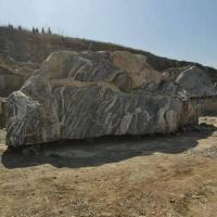 小区庭院流水景观石 厂家定制假山石头 刻字青石