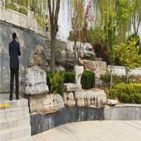 景区造景 风景假山石 刻字雪浪石 选用天然优质石材