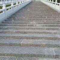 厂家加工定做广场景区青石仿古台阶石踏步石 树围石