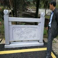 阳台别墅手扶栏杆栏板 桥梁石栏杆 手工雕刻多种图案