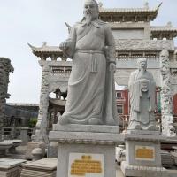 古代名人石雕像 孔子像 神話石雕人物像 造型新穎