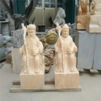厂家定制石雕像 欧式西方人物像 寺庙摆饰佛像雕塑