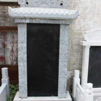 定制墓碑石碑雕刻墓地狮子 大理石花岗岩功德碑 界碑