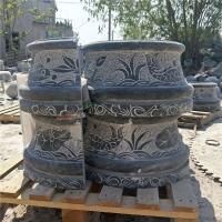 加工柱基石 柱顶石 空心包柱石 柱墩定制批发