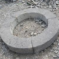 園林景區草坪磚 市政工程用花崗巖樹坑石 樹圍石