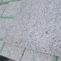 浅灰外墙花岗岩石板材 芝麻白价格 山东白麻干挂石板