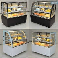 郑州1.2米蛋糕柜定做 1.5米蛋糕展示柜价格