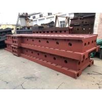 大型铸铁平板平台量具 大型机床铸件床身 铸铁配重铁 码头系船