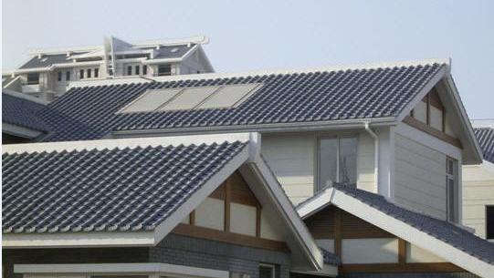 ASA合成树脂瓦仿古装饰屋面旧房改造