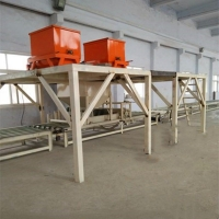 水泥基勻質聚苯板設備,外墻防火保溫勻質板生產線