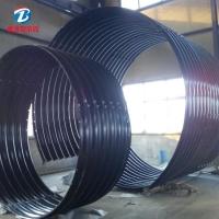 大口径钢波纹管涵 金属波纹涵管直销 包安装