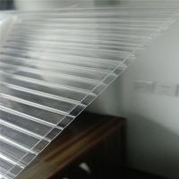 10毫米PC阳光板-佛山透明阳光板定制-8mm中空PC板