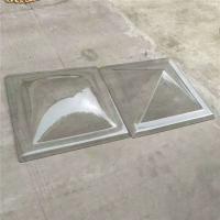有机玻璃采光罩-透明金字塔采光罩-电动天窗PC采光罩