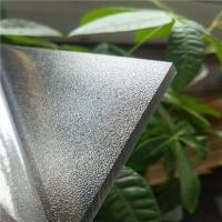 茶色10毫米磨砂耐力板企业-透明PC磨砂板价格-聚碳酸酯磨砂