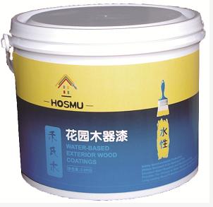 禾氏木水性木屋漆