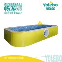 天津宝宝游泳池空气能加热游泳馆设备直销