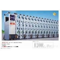 西安自动不锈钢伸缩门电动大门学校工厂自动折叠推拉门